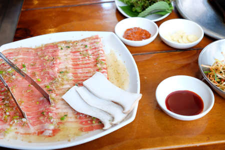 Korean traditional cuisine