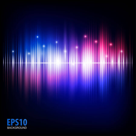Music equalizer wave  Vector illustration Abstract music Stock Vector - 27440110