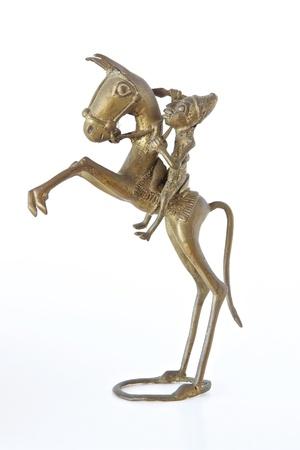 artifact: African bronze artifact