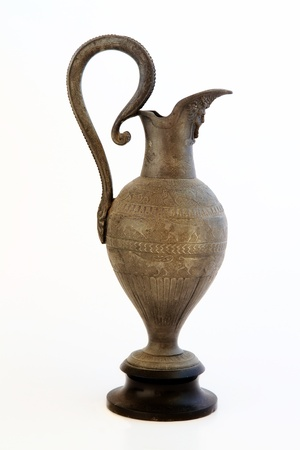 antique vase: Ancient artifact from Egypt