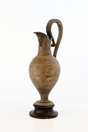 artifact: Ancient artifact Urn Stock Photo