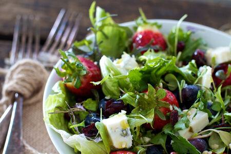 Salade van gezonde ingrediënten
