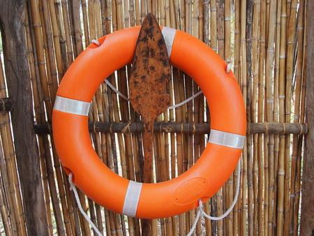 navigation aid: Orange Life Ring