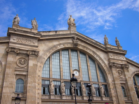 nord: Gare du Nord train station in Paris