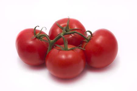 nutricion: Pomidory na białym tle