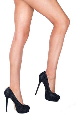 high heels woman: Shapely legs - high heels - woman