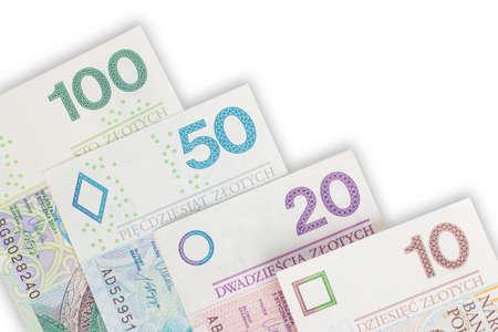 Pieniądze - złot?wki Stock fotó