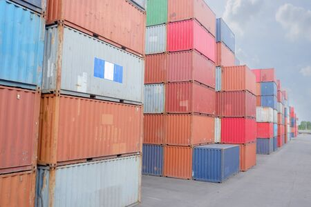 Container stack Work for import and export