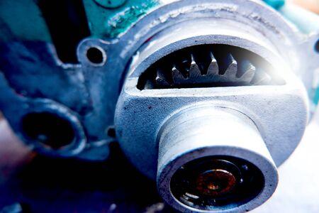 Concepts mécaniques Construction mécanique Pignon de moteur Industrie automobile
