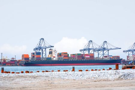 Port industry, sea transportation, import and export of domestic goods
