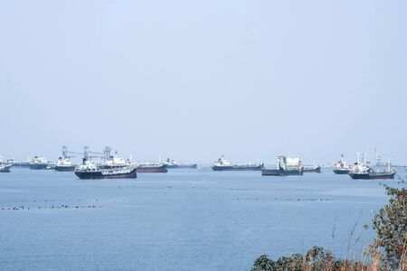 Cargo ship for international import and export