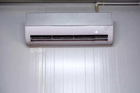 White wall mounted air conditioner