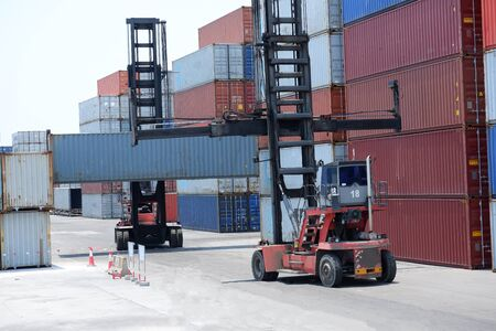 Container terminal International transport logistics