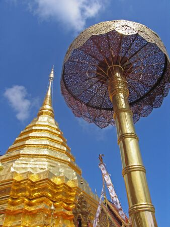 Buddhism Temple in Northern Thailand photo