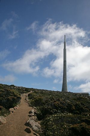 taz: The top of Mount Wellington, Tasmania Stock Photo