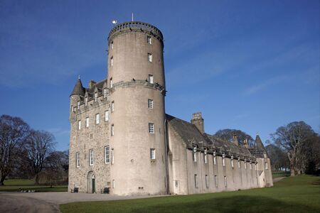 Castle Fraser, West of Aberdeen, Scotland