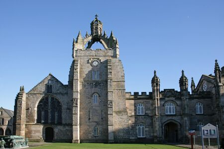 Kings College Unversity, Aberdeen, Scotland Stock Photo