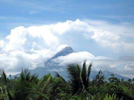 mayon: Mount Mayon (Volcano), Legaspi, Bicol, Philippines Stock Photo