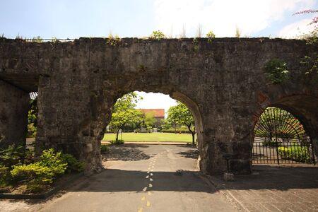 Intramuros area of Manila, Fort Augusta, Philippines Stock Photo - 3026790