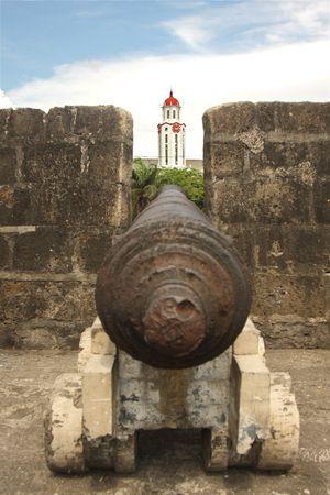 Intramuros area of Manila, Fort Augusta, Philippines
