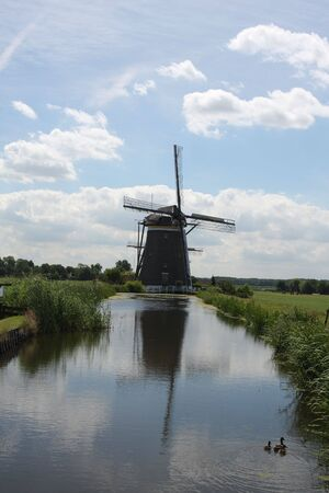 Windmill in the Hague photo
