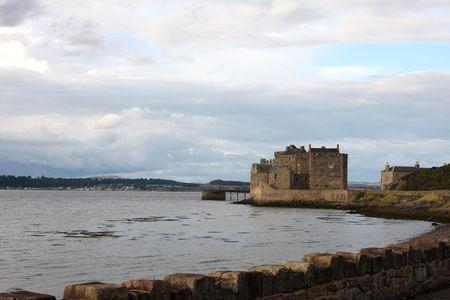 lothian: Blackness Castle, near Edinburgh, Scoltand