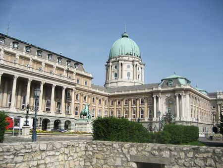 Photo of the Royal Palace, Budapest, Hungary