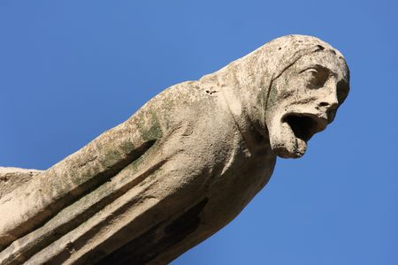 waterspout: The Gargoyles of Notre Dame Cathedral, Paris