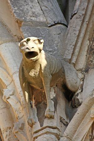 gargouilles: Les gargouilles de la cath�drale de Notre Dame, Paris