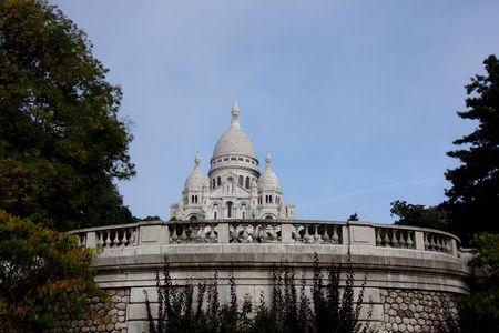 coeur: foto van de Sacre Coeur, Parijs
