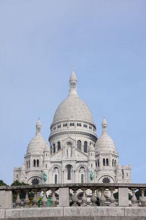 coeur: foto van Sacre Coeur, Parijs