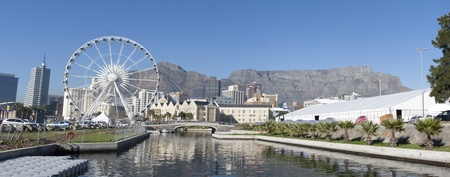 Cape Town Panorama, South Africa Stock Photo - 8818761