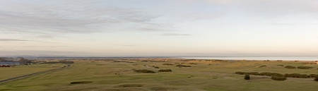 Panorma of the Old Course photo