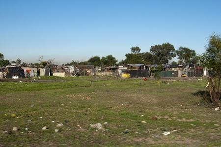 capetown: Capetown slums, South Africa Stock Photo
