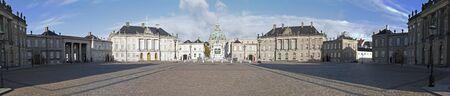 Amalienborg Palace panoramic photo