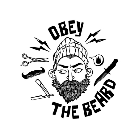 Obey the beard banner.