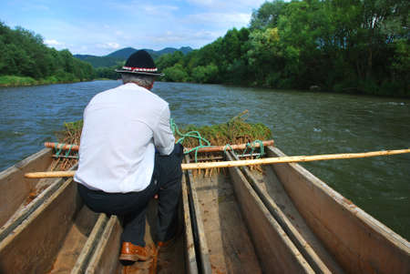 rafter: Rafter on the Dunajec river