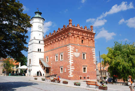 anagrafica: Municipio in Sandomierz sul mercato (attualmente anagrafe)