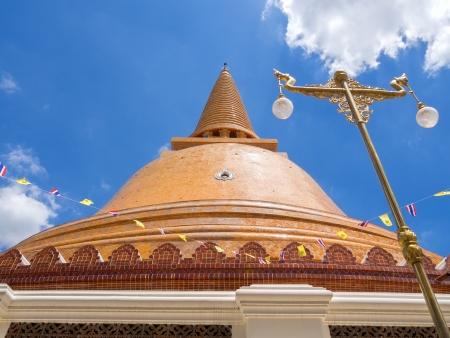 nakhon: Phra Prathom Jedi, The big Pagoda of Thailand.