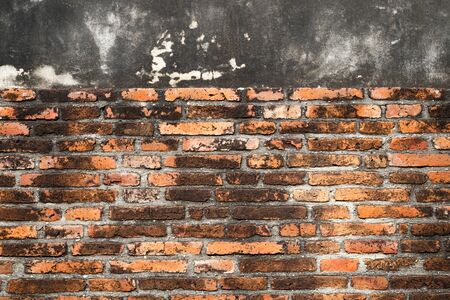 concrete block: Ancient brick wall texture and background.