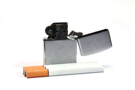 lighter and cigarette photo
