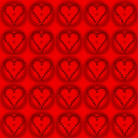 tage: valentine pattern red heart Stock Photo