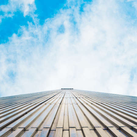 abstract skyscraper.  Stock Photo