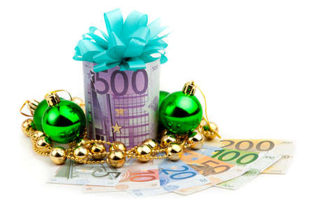 500 euro money gift photo