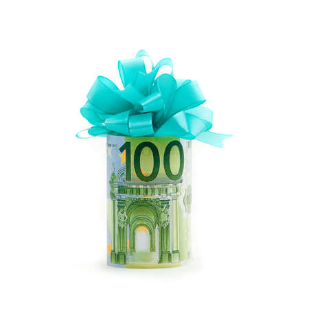 100 euro money gift photo