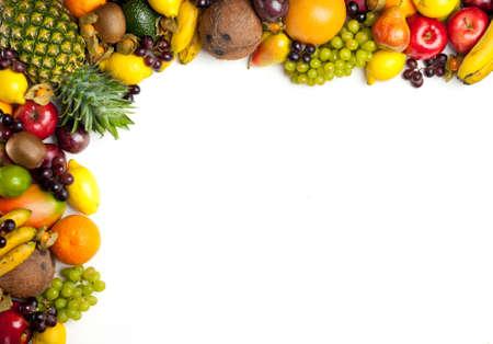 abstract fruit: Frutas Foto de archivo