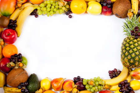 fruits frame Stock Photo - 11043999