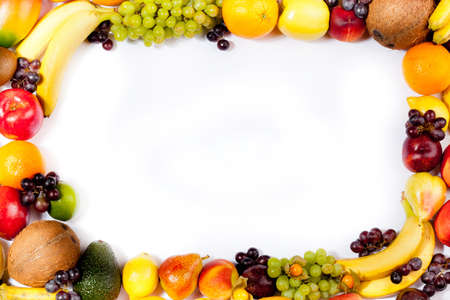 fruits frame photo