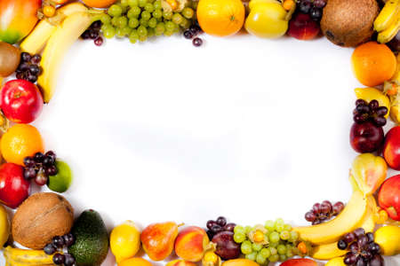 fruits frame Stock Photo - 11043991