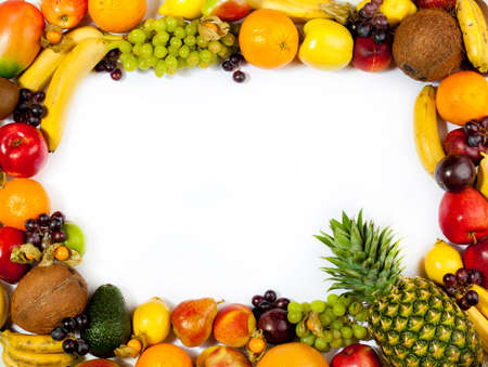 fruits frame Stock Photo - 11044006